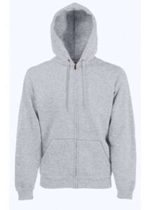 Fruit hoodedsweat jacket_62062_heather grey_M