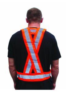 Jólláthatósági vállpánt, narancssárga_Ffi