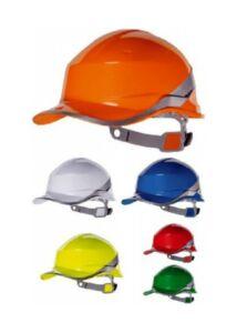 DELTA PLUS Baseball Diamond V ABS ipari védősisak kék