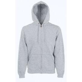 Fruit hoodedsweat jacket_62062_heather grey_2XL