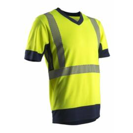 KOMA láthatósági rövid ujjú póló_3XL