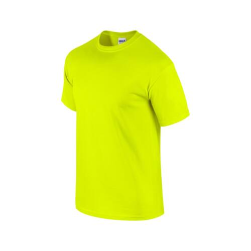 gildan 5000 HEAVY COTTON_safety green_XL